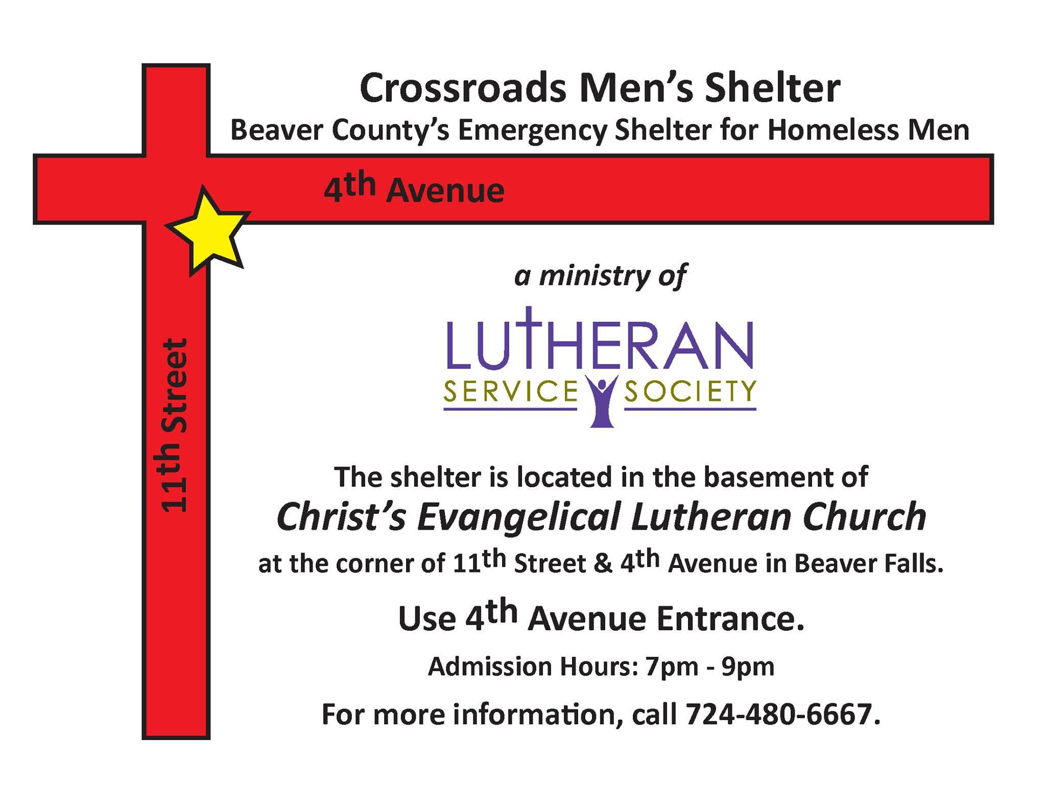 picture of Crossroads Shelter for Homeless Men