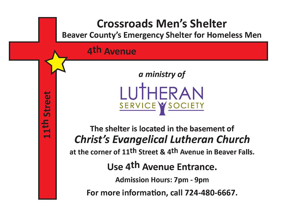 picture of Crossroads Homeless Shelter of Beaver County